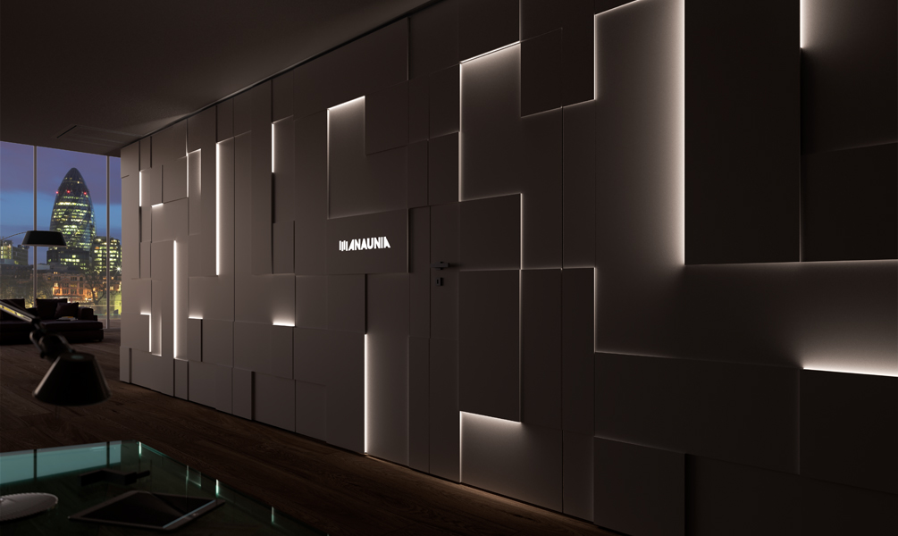 pareti manovrabili di design shine walls anaunia